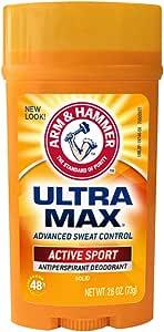 Arm & Hammer Desodorante Ultra Max Active Sport, 73 gr