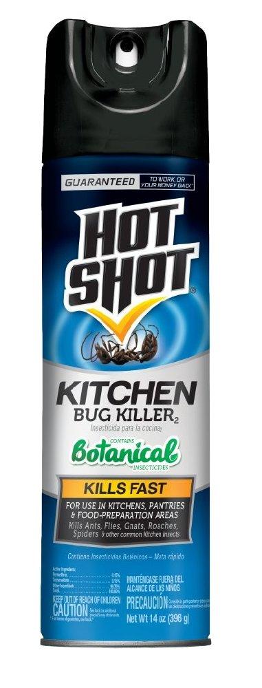 amazon com hot shot kitchen bug killer spray 14oz home pest rh amazon com hot shot kitchen bug killer ingredients hot shot kitchen bug killer instructions