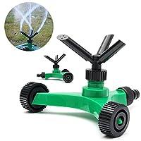 Generic 3 Arms Garden Lawn Sprinkler Garden Yard Irrigation System 360 Degree Sprayer Head Garden Lawn Water Saving Gardening Tools