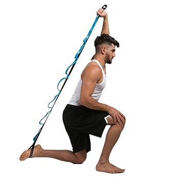 Aesy Yoga Cinturón Estiramiento, Yoga Correas Anti-Gravedad ...