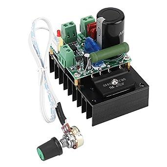12V-110V AC / 15-160V DC 300W PWM Motor Speed Controller Regulator Board  Motor Driver Governor Module for Fan Pump Blower Engraver