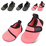 L-RUN Toddler Water Shoes Aqua Socks Baby Beach