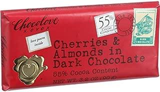 product image for Chocolove Xoxox Premium Chocolate Bar - Dark Chocolate - Cherries and Almonds - Mini - 1.3 oz Bars - Case of 12