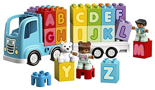 51XkKJUUFAL - LEGO DUPLO My First Alphabet Truck 10915 ABC Letters Learning Toy for Toddlers, Fun Kids' Educational Building Toy, New 2020 (36 Pieces)