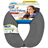 Cloudz Microbead Travel Neck Pillow - Grey