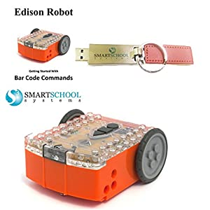 Edison Robot with USB Drive and Printed Guide