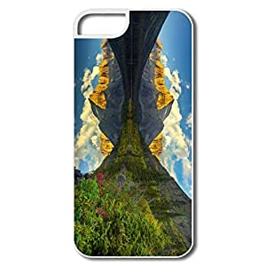 IPhone 5S Case, Morning Reflection White Case For IPhone 5