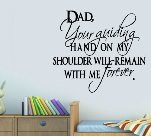 BestPricedDecals DAD Your Guiding Hand ~ Wall Decal, 13