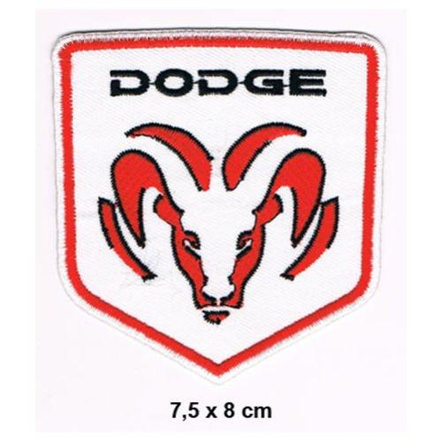 DODGE VIPER Charger Challenger Ram Van GTS SRT10 Nascar Motorsport Patch Sew Iron on (Embroidered Challenger Jacket)