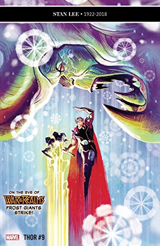 Thor (2018) #9 (#715) VF/NM Mike Del Mundo Cover The War of the Realms