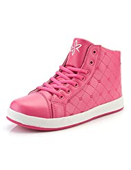 Mirah June Women's Casual High Tops Shoes Lace Up Winter Fashion Sneakers