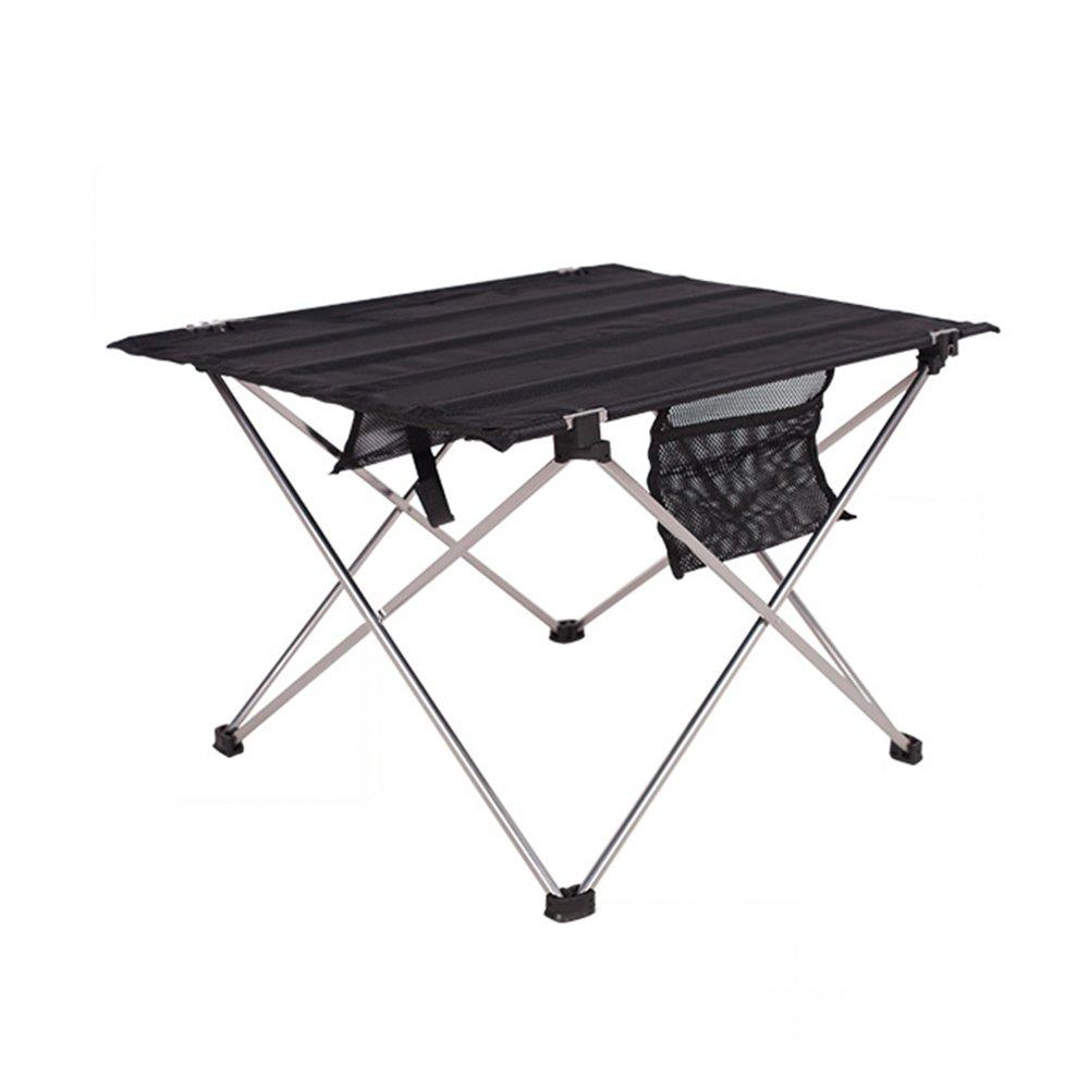 Klapptisch Aluminiumlegierung Klapptisch Campingtisch Gartentisch Campingmöbel Camp Active Klapptisch Reisetisch (Größe: 54  42  38cm)