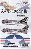 A-7 B Corsair II: VA-303, VA-72 (1/48 decals)