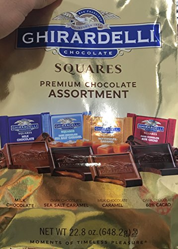 (Ghirardelli Gold Assorted 4 Flavors, 22.82 oz)