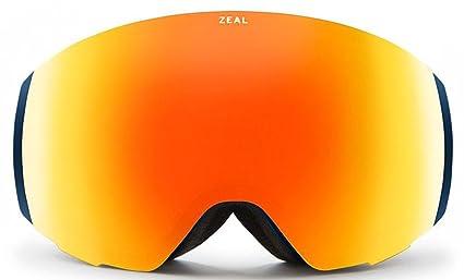 40016a85fff3 Zeal Optics Unisex Portal Azure W  Phoenix Mirror Lens + Sky Blue Mirror  Lens One