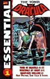 img - for Essential Tomb of Dracula, Vol. 1 (Marvel Essentials) (v. 1) book / textbook / text book