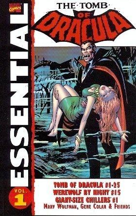 Essential Tomb of Dracula, Vol. 1 (Marvel Essentials) (v. 1)