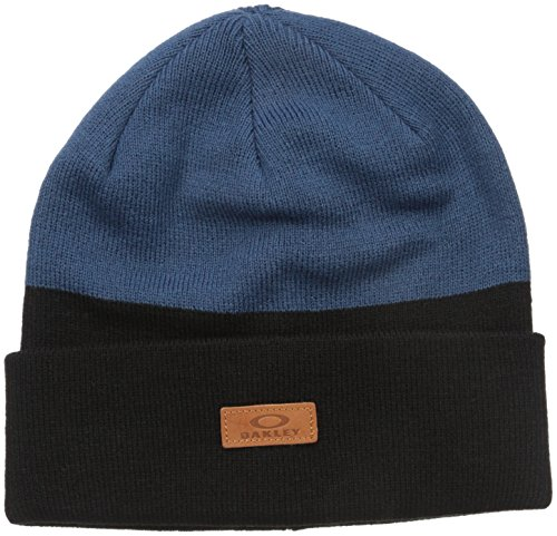 Oakley Men's Boylermaker Cuff Beanie, One Size, Blue - Oakley Shade