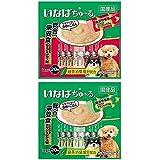 いなば 犬用おやつ ちゅ~る 総合栄養食 とりささみ ビーフミックス味 & チキンミックス味 14g×各20本入 (40本)