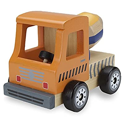 Wooden Wheels Natural Beech Wood Cement Mixer by Imagination Generation: Toys & Games