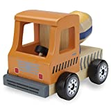 Wooden Wheels Natural Beech Wood Cement Mixer by Imagination Generation