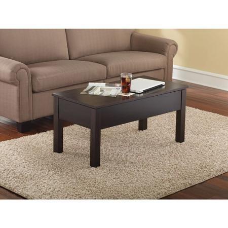 Admirable Mainstays Lift Top Coffee Table Multiple Colors Espresso Machost Co Dining Chair Design Ideas Machostcouk