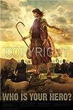 Bible Hero Posters Christian 24'x 36' Matte Finish Print - Joseph of Egypt, Coat of Many Colors Poster - Genesis 37