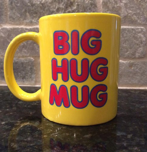 Big Hug Mug - Ceramic Coffee Mug - Big Hug