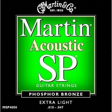 Martin MSP4000 - Juego de cuerdas para guitarra acústica de ...