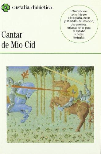 Cantar de Mio Cid (Castalia Didactica) (Spanish Edition)