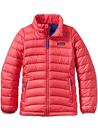 Patagonia Girls' Down Sweater Jacket (L, Indy Pink) by Patagonia