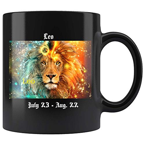 Leo Astrological, Horoscope, Astrology, Zodiac, Star sign Mug ()