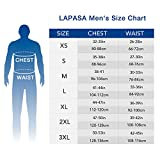 LAPASA Men's Heavyweight Thermal Underwear Long