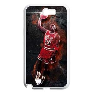 Michael Jordan Samsung Galaxy N2 7100 Cell Phone Case White Phone cover Q3271477
