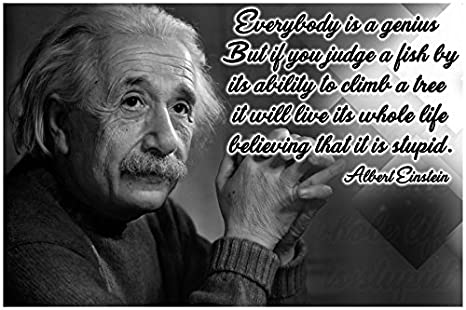 Amazoncom Math Posters Science Posters Albert Einstein Quote