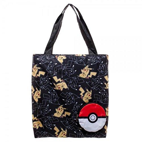 Pokemon Bag - Pokemon Pikachu Packable Tote Bag