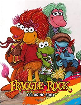 Fraggle Rock Coloring Book Incredible Coloring Book For Kids And Adults With 50 Adorable Illustrations Of Fraggle Rock For Create Beautiful Art And Having Fun Amazon De Trintiy Drago Fremdsprachige Bucher