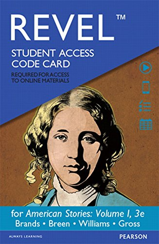 Revel for American Stories: A History of the United States, Volume 1 -- Access Card (3rd Edition)