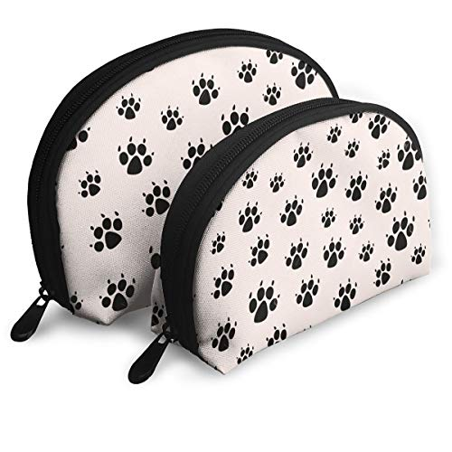 Price comparison product image Bobo Station Dog Footprints III Portable Bags Clutch Pouch Storage Bags For Womens And Girls