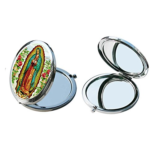 Our Lady of Guadalupe compact Mirror (12 Pcs Pack) - Baptism Favor / Christening Favor / First Communion (1st Communion Favors)