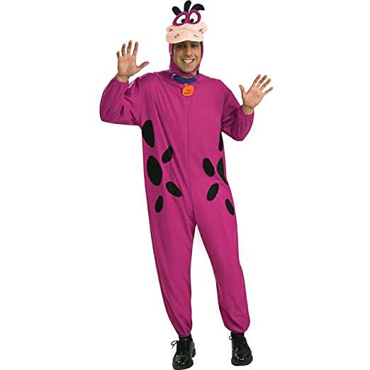 db6616173330d Amazon.com: Rubie's Costume Co Men's The Flintstone's Dino The Dinosaur  Adult Costume: Toys & Games