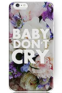 NEW Case For iPhone 6 Plus 5.5 Inch Fashion Design Don't Cry Hard Case