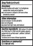 Equate Extra Strength Gas Relief 125 mg 72 Softgels