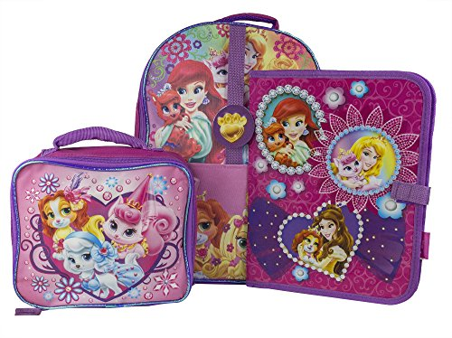 fast-forward-large-backpack-with-lunch-kit-and-binder-princess-palace-pets