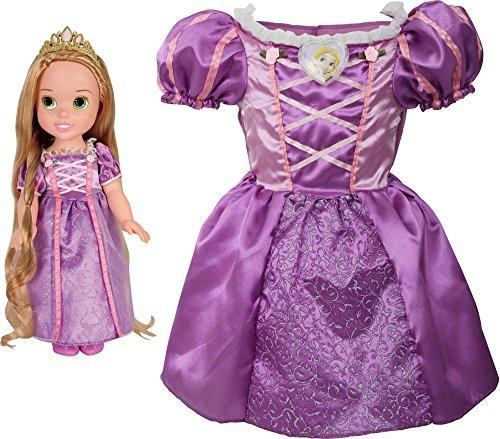 Disney Princess Rapunzel Toddler Doll & Girl Dress Gift Set