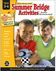 Summer Bridge Activities - Grades 3 - 4, Workbook for Summer Learning Loss, Math, Reading, Writing and More wi