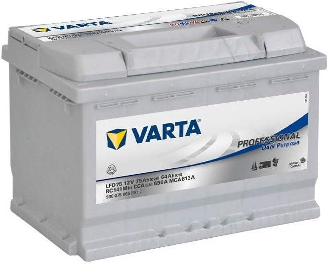 Batería para Caravana o Barco VARTA LFD75