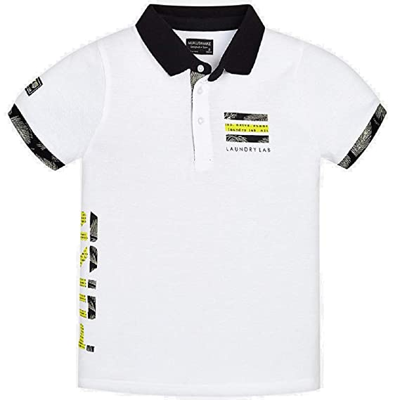 Mayoral Polo Manga Corta Sporty niño Modelo 6121: Amazon.es: Ropa ...