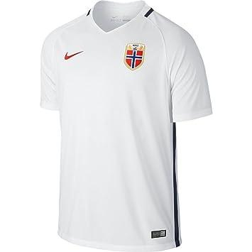 Nike Nor M SS H/A Stadium JSY - Camiseta Selección de Fútbol Noruega 2015/2016 para Hombre: Amazon.es: Deportes y aire libre