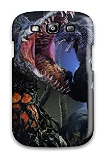 Jimmy E Aguirre's Shop Hot Snap-on Godzilla Fighting With Monster Hard Cover Case/ Protective Case For Galaxy S3 5653647K39491553